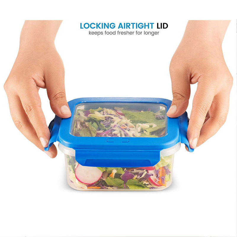 40-Piece Airtight Food Storage Containers Set With Leak-Proof Lids - Finedine | The Best And Beyond