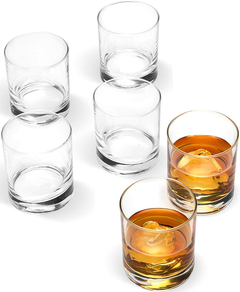 "Small 2 ¾"" x 3"" Whiskey Glasses [6 Piece Set] - Finedine 