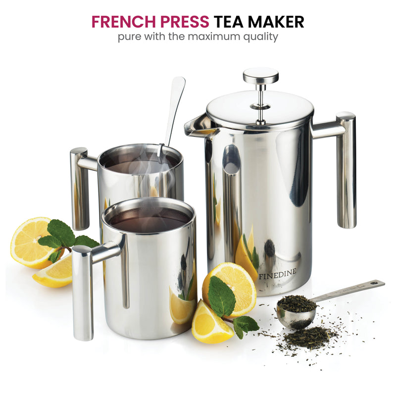 French Press Coffee Maker Set - [5-pieces] - Finedine | The Best And Beyond