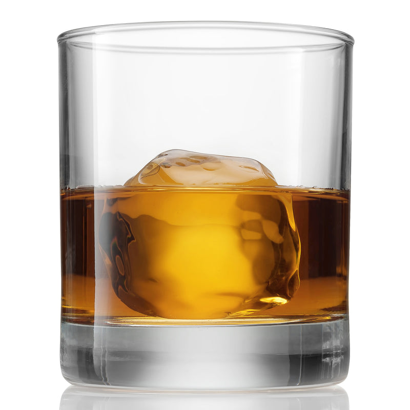 Old Fashioned Whiskey Glasses - 8.5 Ounce - 6 Piece Set