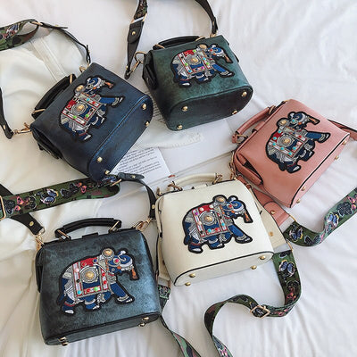 5 variantes ensemble du sac a main satchel elephant