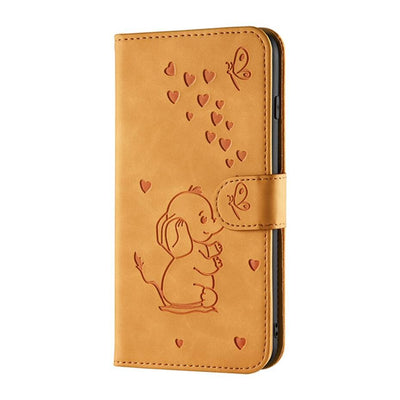 Etui protection Samsung elephanteau 3d anti poussieres