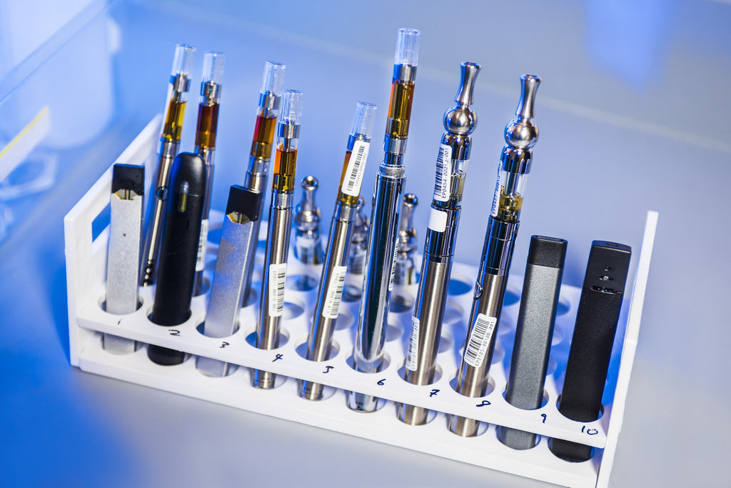 According to the CDC, fake vapes contain Vitamin E acetate, pesticides, and heavy metals