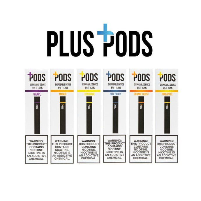 Plus Pods - Disposable 1.2ML 6%