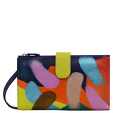 1113 Painterly Palette Crossbody Cell Phone Case & Wallet