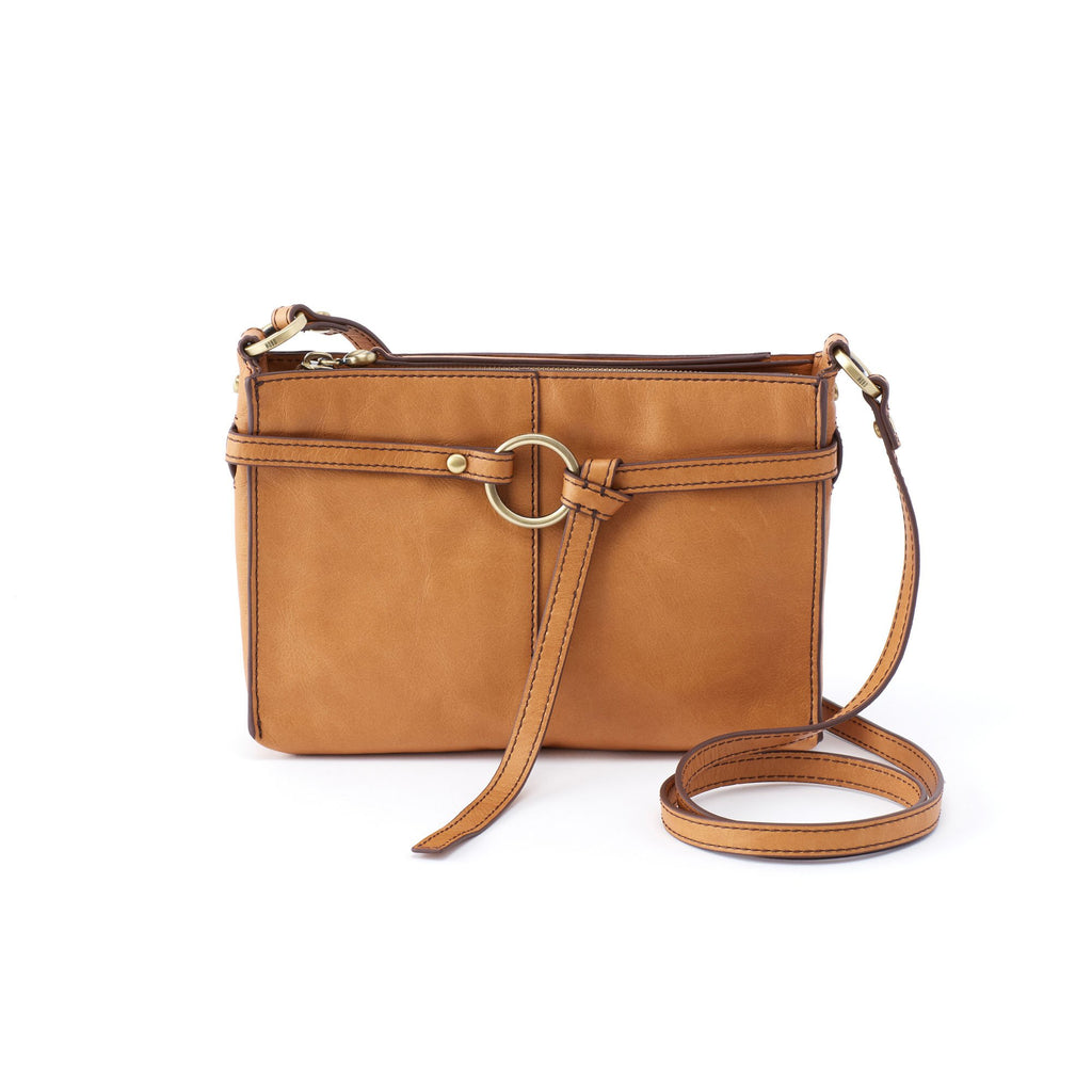Women's Libra Full Grain Leather Casual Crossbody Handbag