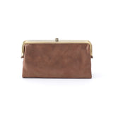 Women's Lauren Full Grain Leather Metallic Wallet