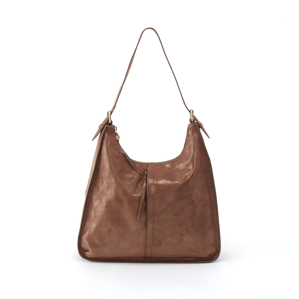 Women's Marley Full Grain Leather Casual Metallic Handbag