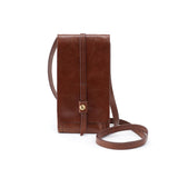 Women's Token Hide Leather Casual Crossbody Wallet