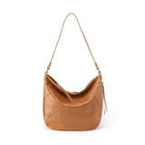 Women's Garner Full Grain Leather Casual Handbag With Whipstitch