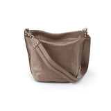 Women's Flare Full Grain Leather Casual Handbag Slouch Bucket Bag
