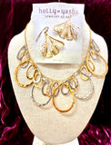 Holly Yashi Silver and Gold Fantasy Necklace