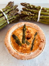 Load image into Gallery viewer, Asparagus quiche (for one)