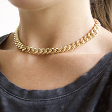 Load image into Gallery viewer, Rebel Gold Choker