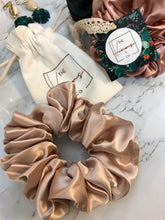 Load image into Gallery viewer, Silk Scrunchie Scrunchy Handmade Scrunchie
