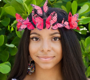 Butterfly Crown, Butterfly Fascinator, Butterfly Headpiece