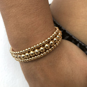 Beaded In Gold (Adjustable)