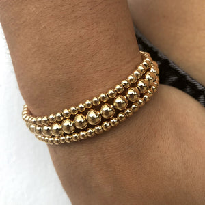 Beaded In Gold (Stretchy Elastic)