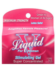 Liquid V Female Stimulant - Pillow Box Of 3