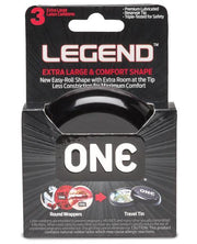 One The Legend Xl Condoms - Box Of 3 - SEXYEONE
