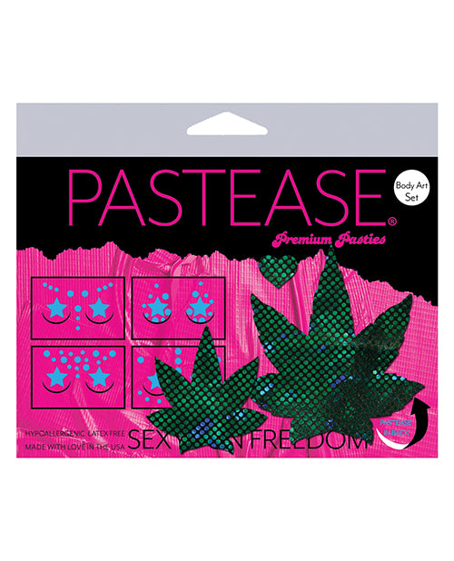 Pastease Body Set Disco Leaf - Green O-s