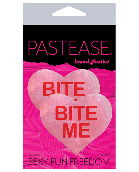 Pastease Bite Me Heart - Pink-red O-s