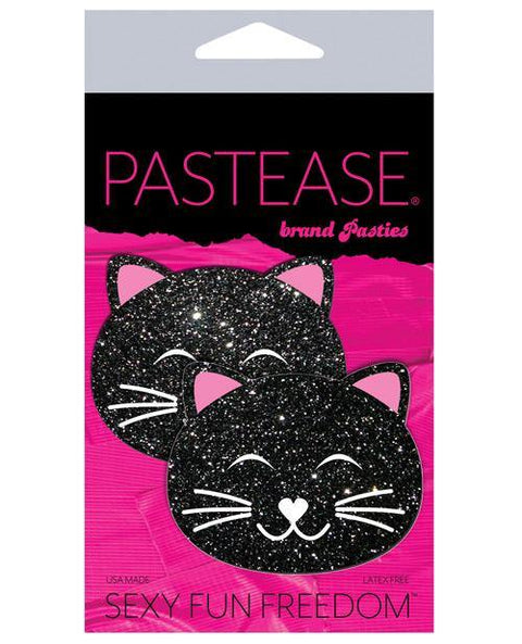 Pastease Glitter Black Cat - Black O-s