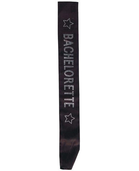 Bachelorette Sash W/crystals - Hot Pink
