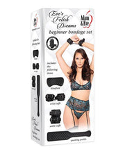 Adam & Eve's Fetish Dreams Beginner Bondage Set - Black