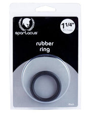 "Spartacus 1.25"" Rubber Cock Ring -  Blue"