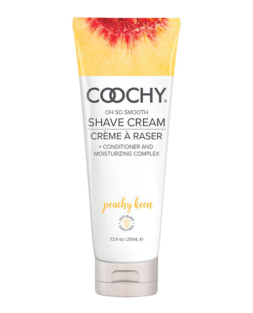 Coochy Shave Cream - 7.2 Oz Peachy Keen