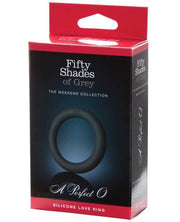 Fifty Shades Of Grey A Perfect O Silicone Love Ring - SEXYEONE