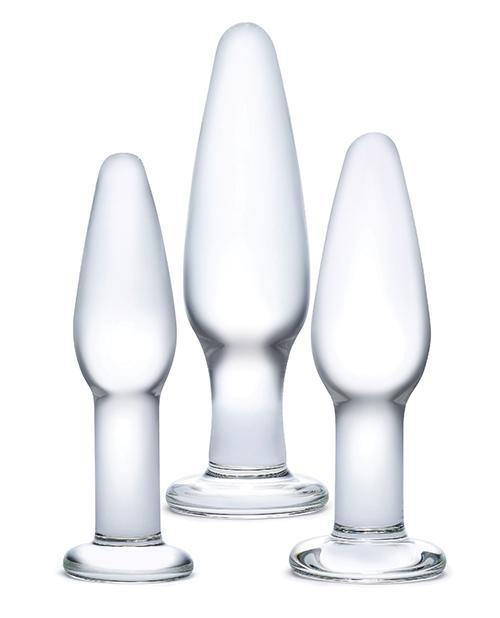 Glas 3 Pc Glass Anal Training Kit