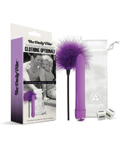 The Daily Vibe Clothing Is Optional Kit - Purple
