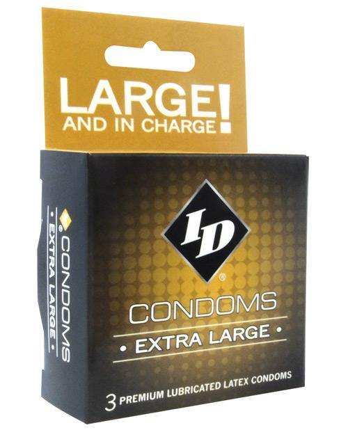 Id Extra Large Condoms - Box Of 3 - SEXYEONE