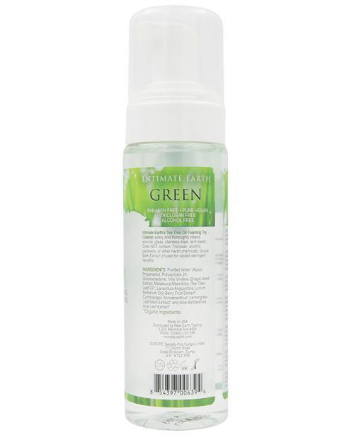 Intimate Earth Foaming Toy Cleaner - Green Tea Tree Oil