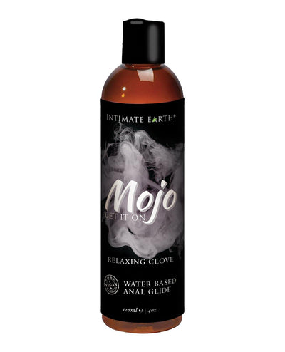 Intimate Earth Mojo Water Based Relaxing Anal Glide - 4 Oz