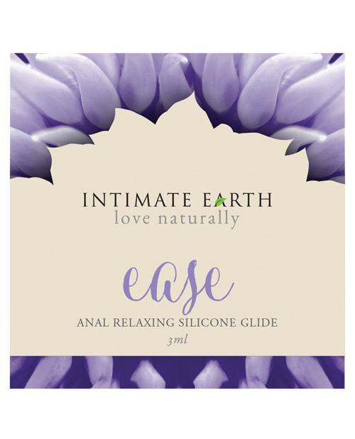 Intimate Earth Soothe Ease Relaxing Bisabolol Anal Silicone Lubricant Foil - 3 Ml