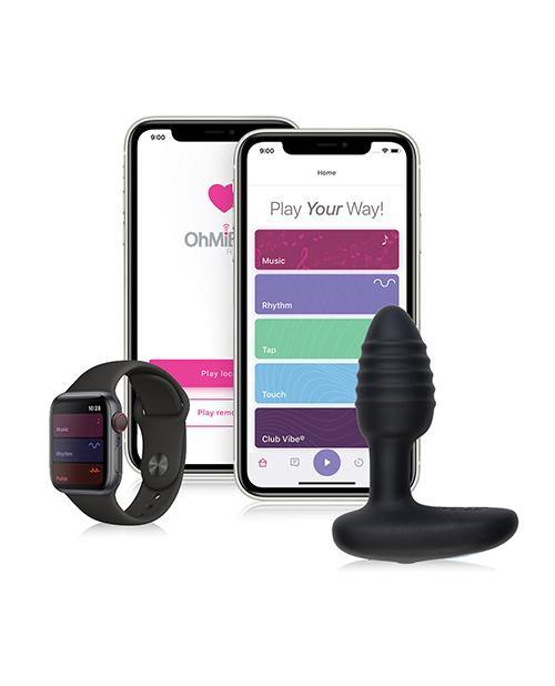 Ohmibod Lumen Led Pleasure Plug - Black - SEXYEONE