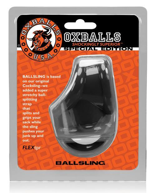 Oxballs Ballsling Ball Split Sling - Black