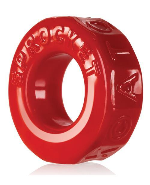 Oxballs Atomic Jock Sprocket Cockring - Red