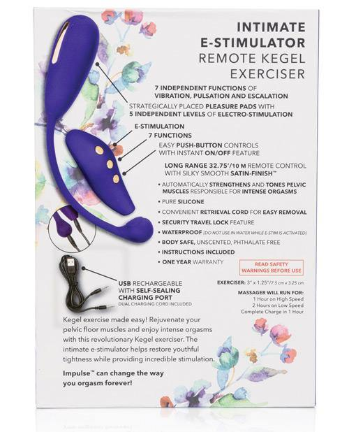 Impulse Intimate E-stimulator Remote Kegel Exerciser - Purple - SEXYEONE