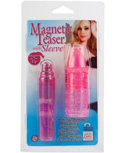 Magnetic Teaser W-silicone Sleeve - Pink