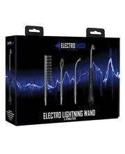 Shots Electroshock Lightning Wand - Black