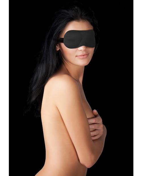 Shots Ouch Curvy Eye Mask - Black