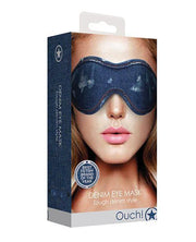 Shots Denim Eye Mask