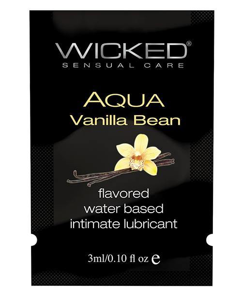 Wicked Sensual Care Waterbased Lubricant - .1 Oz Vanilla Bean