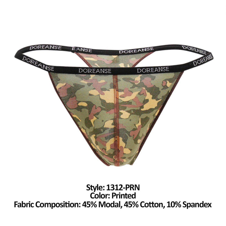 Camouflage Thong