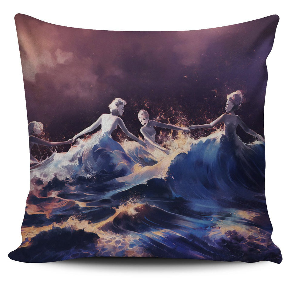 A wave of emancipation Cushion Cover - Clicksstars
