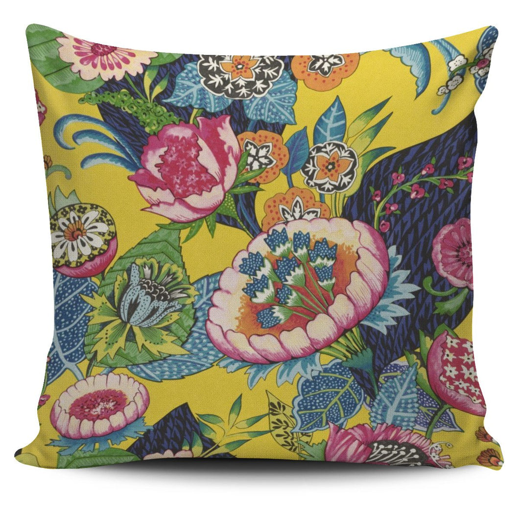 Indian Floral Cushion Cover - Clicksstars